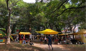 Almoço de quinta na Praça Lions Monções