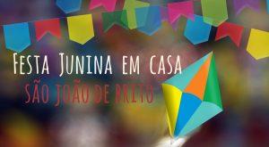 Festa junina na São João de Brito