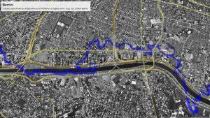 Rio Pinheiros: travessia pela Berrini